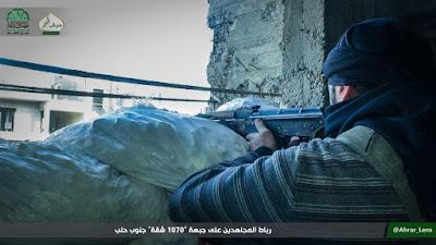 mujahidin ahrar al-sham di project apartemen 1070