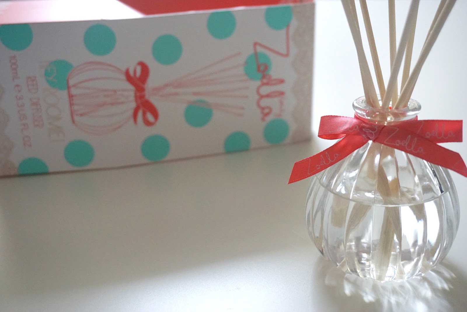 Zoella Scented Reed Diffuser Review