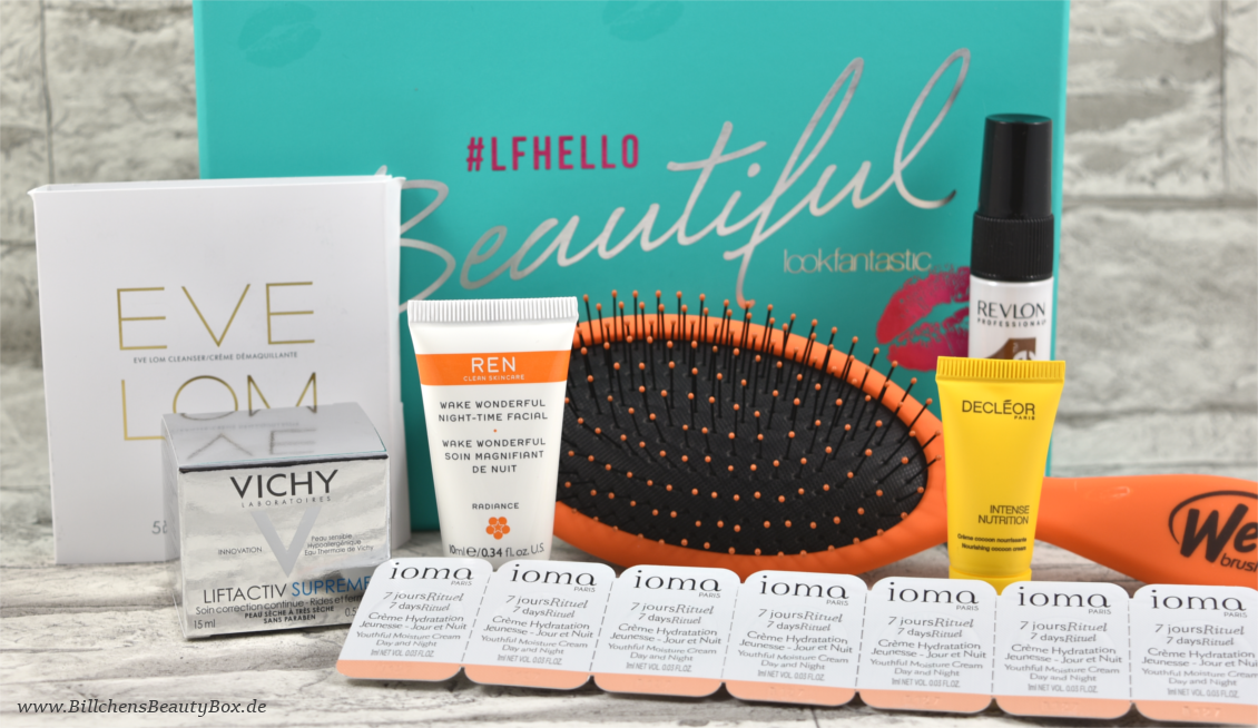 Lookfantastic Beauty Box Mai 2016 Inhalt