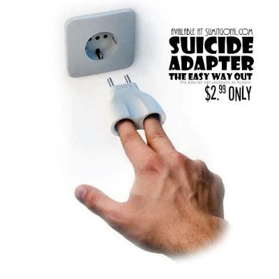 Lustige Erfingung für die Steckdose - Heute könnt ich sterben - Selbstmord lustig
