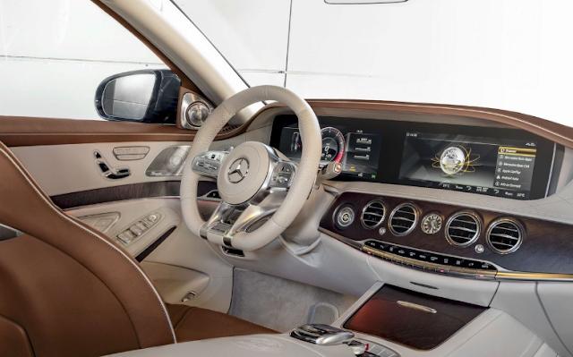 2018 Mercedes-AMG S 65 Interior