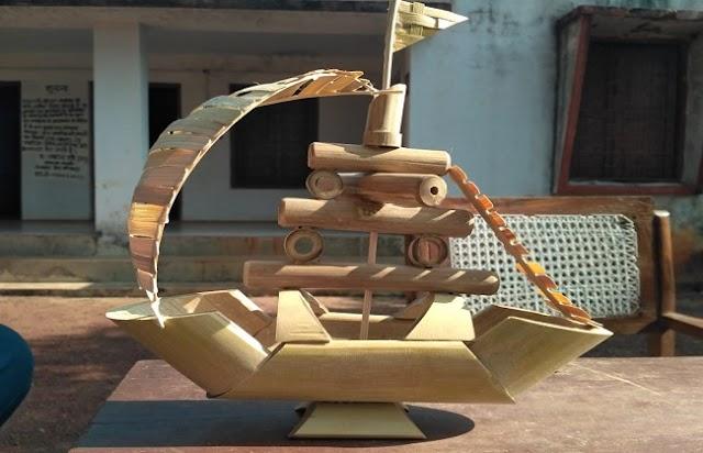 बांस से रोशन होगा विंध्य क्षेत्र, मीरजापुर में सजेगी खिलौनों की मंडी