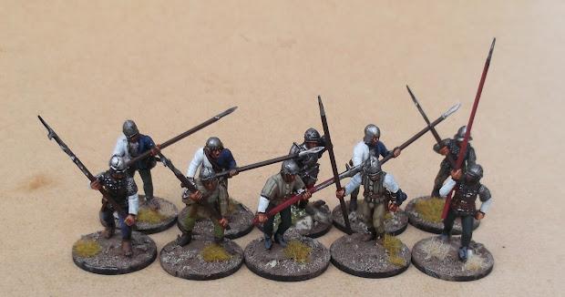 Medieval Miniatures Wargaming - Exploring Mars