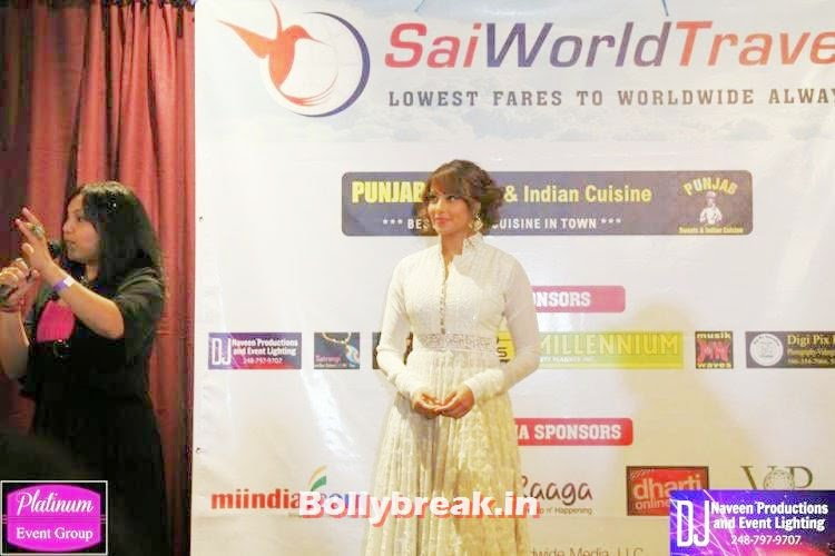 Bipasha Basu is busy attending several events in US. At one such event in Detroit, , Bipasha Basu at an event in Detroit,USA