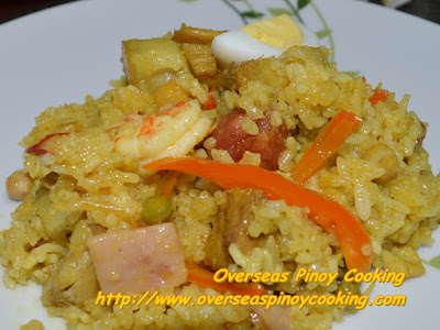 Pinoy Arroz Valenciana