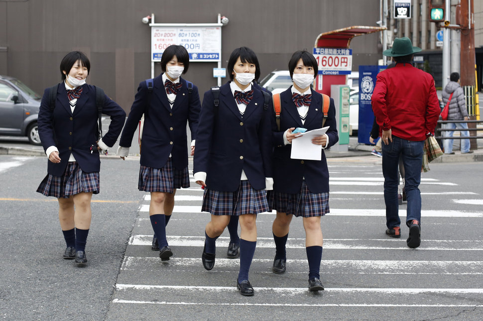 30 Beautiful Pictures Of Girls Going To School Around The World - Japan