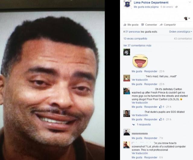 Fugitivo envió una selfie a la Policía
