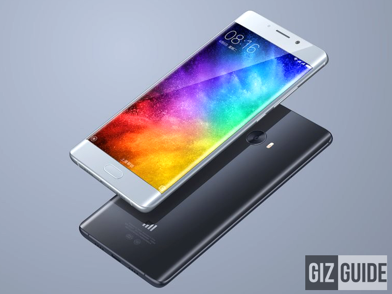 Xiaomi Mi Note 2 Officially Announced, Price Starts At 2,799 Yuan!