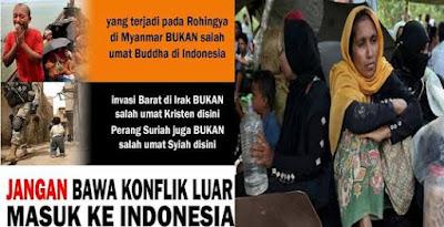 Kasus Rohingya penguji kecerdasan manusia