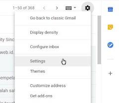 Cara Menyisipkan Tanda Tangan di Gmail