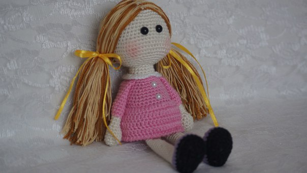 Little Doll Amigurumi Free Pattern in 2020 | Doll amigurumi free ... | 340x604