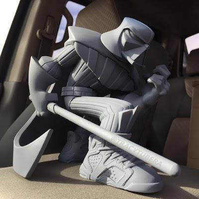 Darth Vader Jordan Sith Infrareds Star Wars Resin Figure by Tracy Tubera