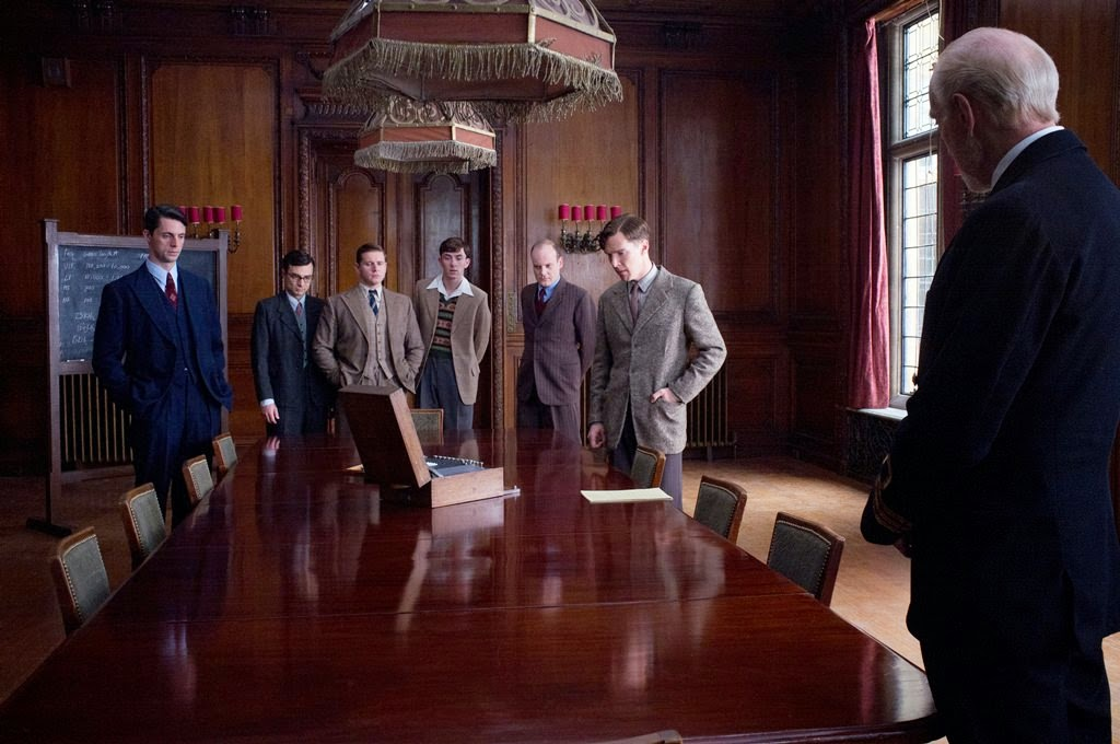 the imitation game-matthew goode-ilan goodman-allen leech-matthew beard-jack tarlton-benedict cumberbatch-charles dance