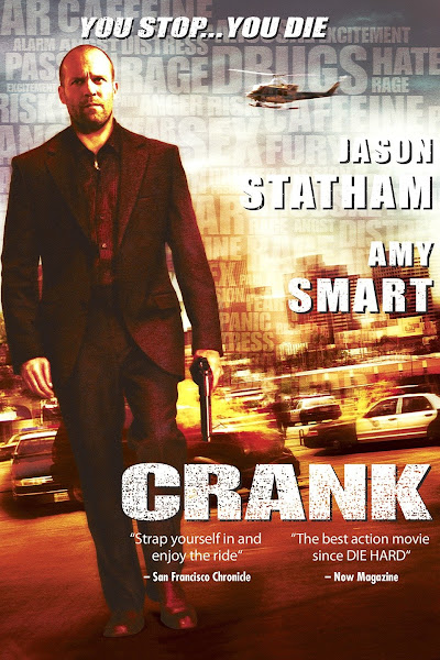 Poster of Crank (2006) UnRated Dual Audio [Hindi-English] 720p BluRay ESubs Download