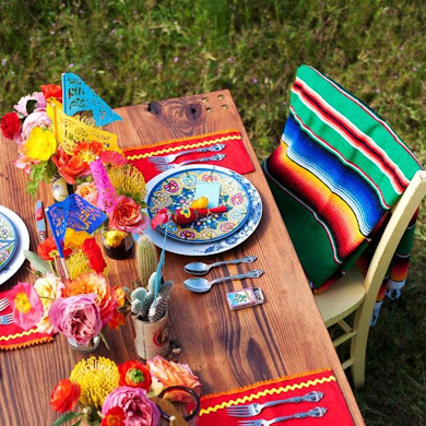 Chic Mexican Inspired Tablescapes for Your Fiesta