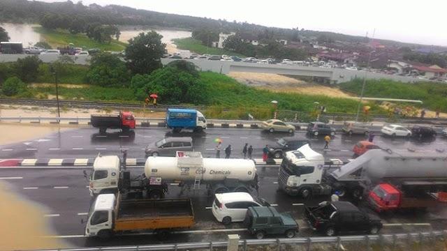 Musim Hujan Musim Banjir di Johor