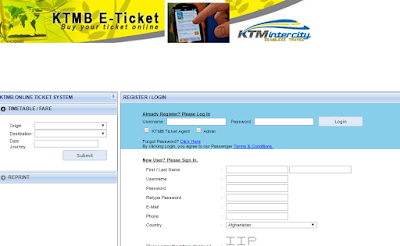 Life After Graduate Ktmb Online E Ticket Purchase System