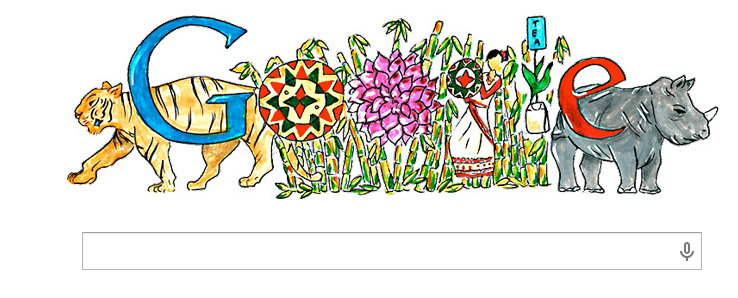 google doodle - 14 Nov Children's Day