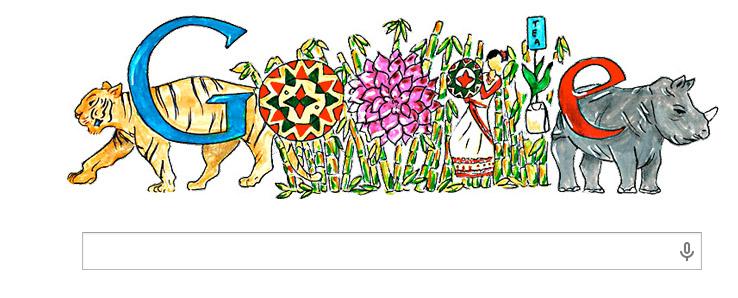 google doodle - 14 Nov Children's Day