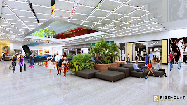 Trung tâm thương mại của dự án Risemount Đà Nẵng