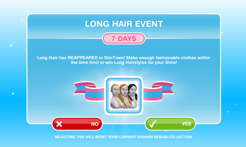 How To Complete Long Hair Event The Sims Freeplay Freeplay Guide