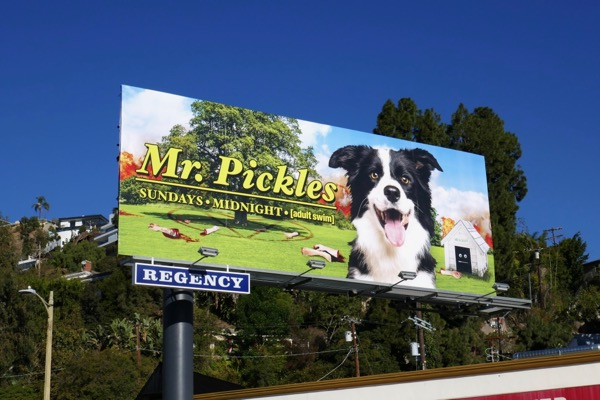 Mr Pickles season 3 billboard