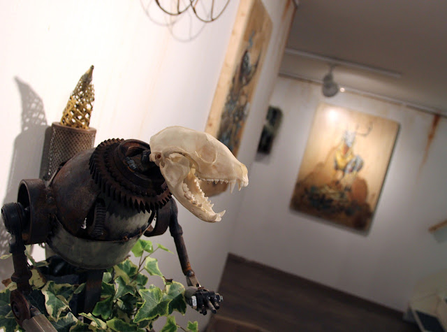 """Coverage Of Pixel Pancho """"The Garden Of Eden"""" New Solo Show In Turin, Italy 7"""