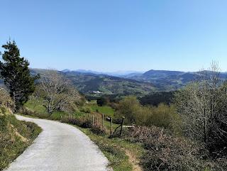 Valle de Trucíos desde la pista