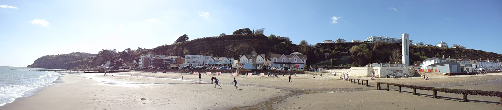 Shanklin, view from the beach