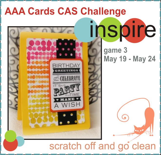 MASKerade: AAA Cards Game 3 - Happy Birthday!