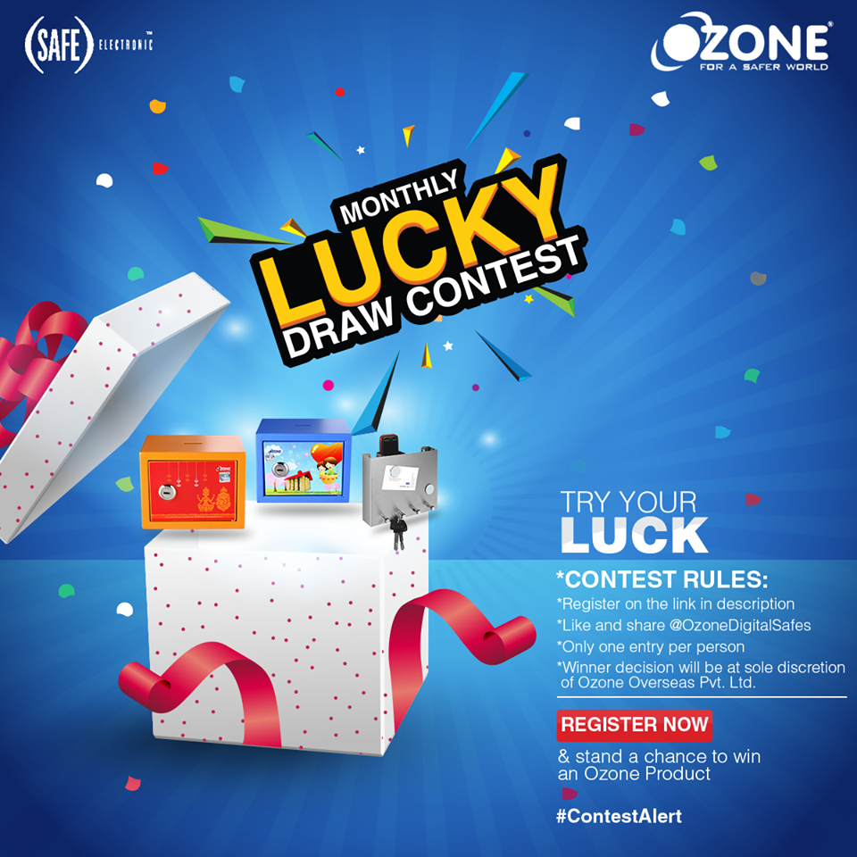 December Lucky Draw contest Win Cool Ozone Products daily