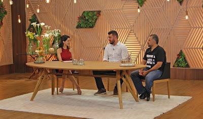 Ana Paula Padrão conversa com Pablo Oazen e Francisco Pinheiro - Divulgação/Band