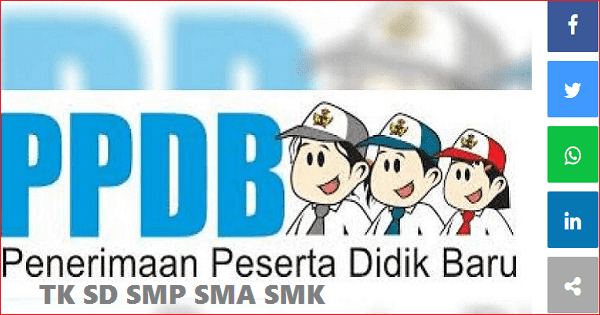 Download Juknis PPDB 2019/2020 SD SMP SMA SMK PDF