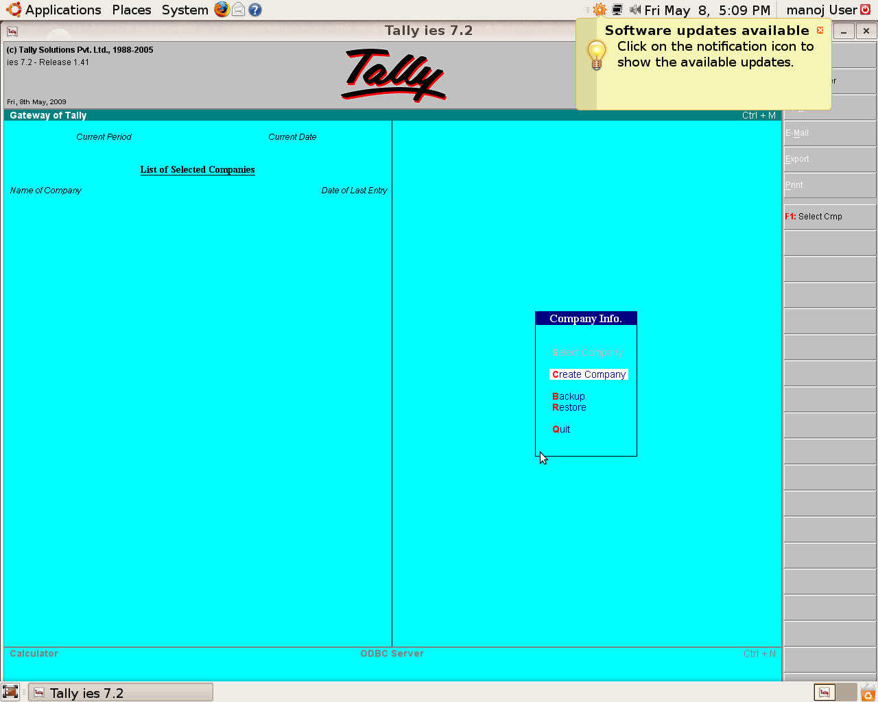 tally 7.2 software download