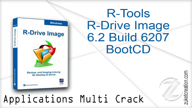 R-Tools R-Drive Image 6.2 Build 6207 BootCD