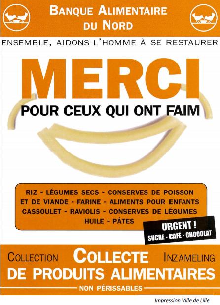 b5c9e390abe Collecte pour la Banque Alimentaire (Ecole Cornette)