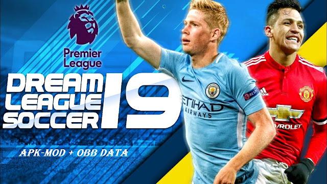 Download Dream League Soccer 2019 Mod Apk Gratis untuk kalian mainkan di perangkat Android