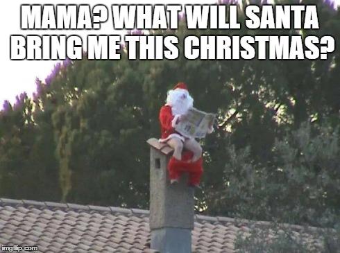 Merry Christmas Santa memes pic