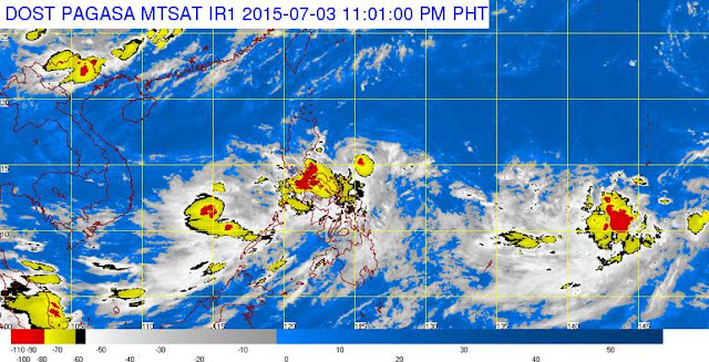'Bagyong Egay' July 3, 2015 Update: Signal No. 2 up in Isabela, Northern Aurora