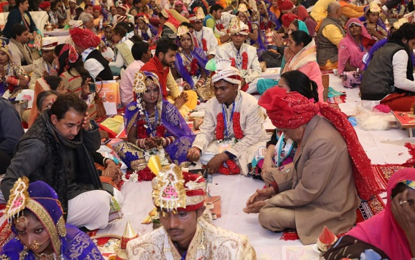New Delhi, Narayan Seva Sansthan, specially abled, mass wedding
