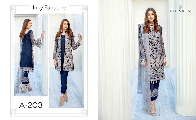 Ramsha Chevron Volume 2 Ramsha Spring Summer Collection 2020 Embroidered Chiffon With Price Buy Online