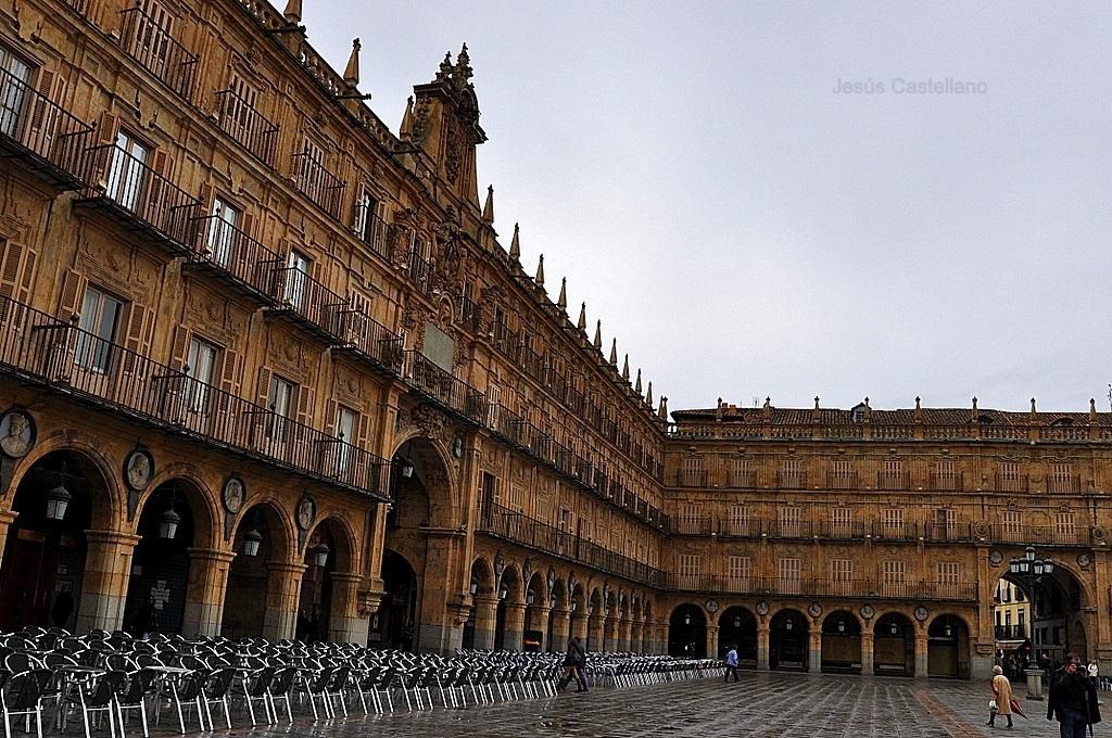 VISIÓN: FOTOS Y POESÍA: Paseando por...Salamanca (Plaza Mayor)