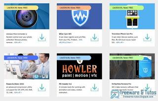 Giveaway : 6 logiciels commerciaux en version gratuite !