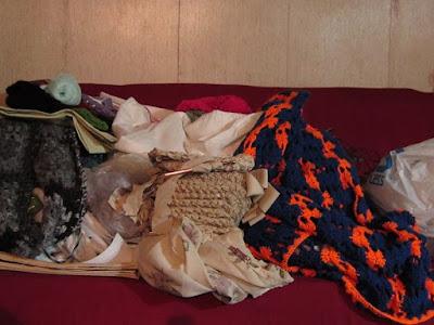 crochet, WIP's work in progress, clutter
