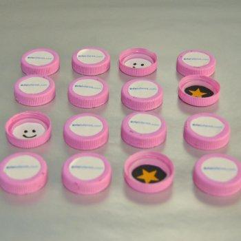Juegos con tapas o chapas de botellas recicladas - Como hacer tapas faciles ...