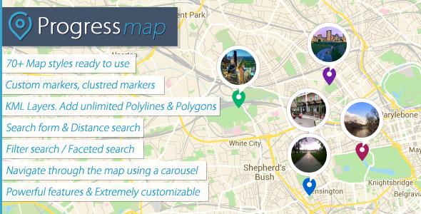 Progress Map v2.8.2 – WordPress Plugin