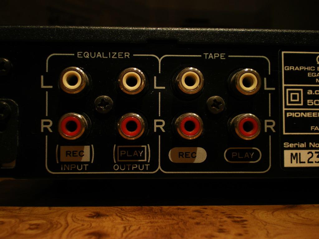 Klasik Item Trade: Pioneer GR 333 7 Band Graphic Equalizer