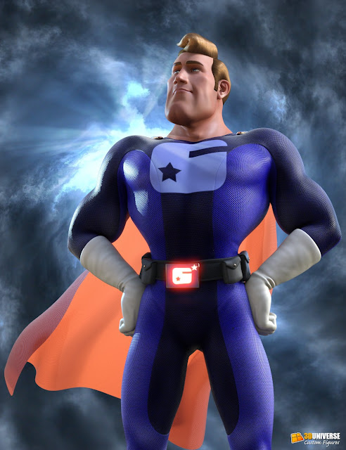 Captain Charisma for Genesis 3 Male