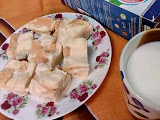 Resepi Mudah : Puding Roti Kukus Menggunakan Packet Susu 2 in 1