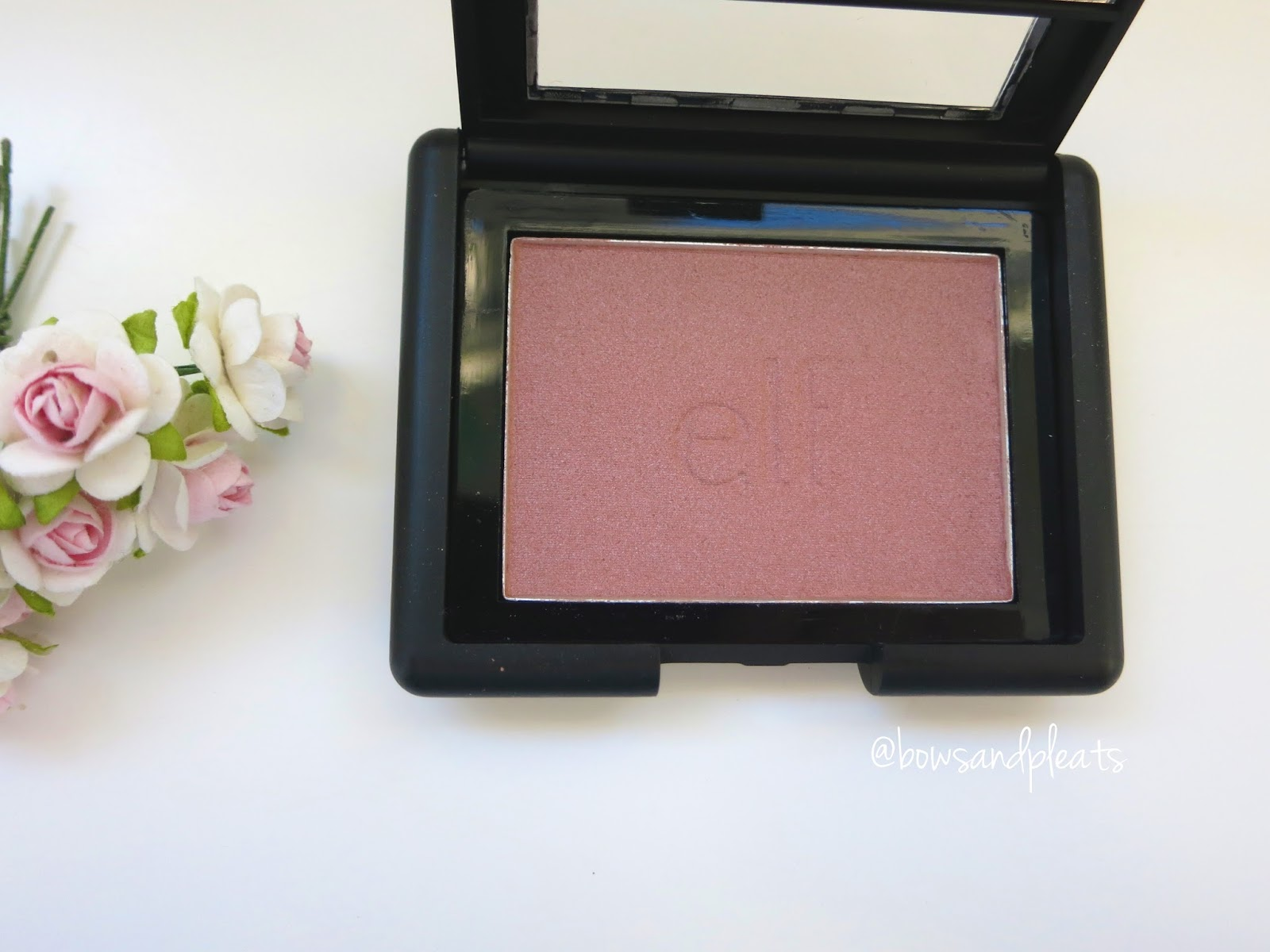 e.l.f studio blush in mellow mauve